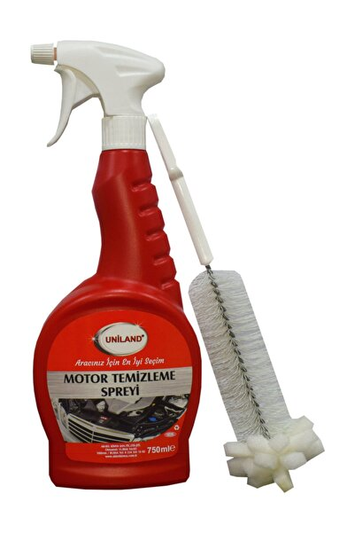 uniland Motor Temizleme Spreyi 750 ml + Özel Sprey Başlığı Ile