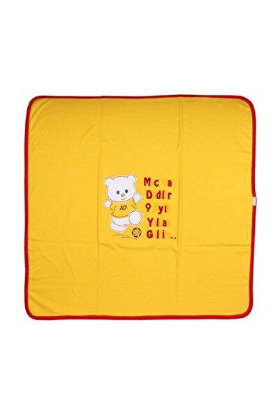 Bebe Sarı Kırmızı Taraftar K Battaniye