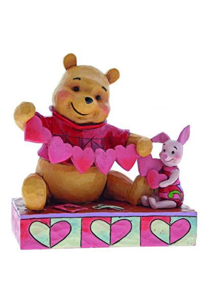 DISNEY Lisanslı Winnie The Pooh Ve Piglet El Yapımı Biblo