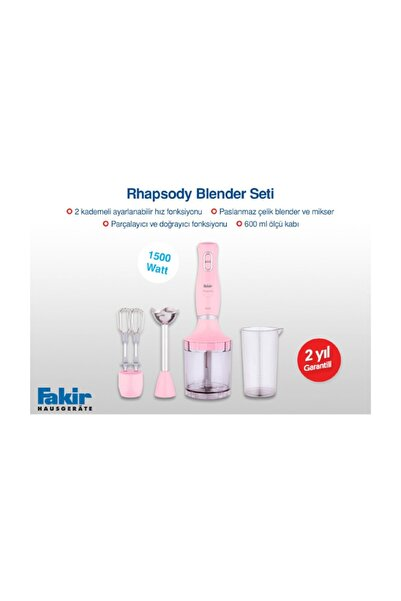 Fakir Rhapsody Blender Set 1500 Watt