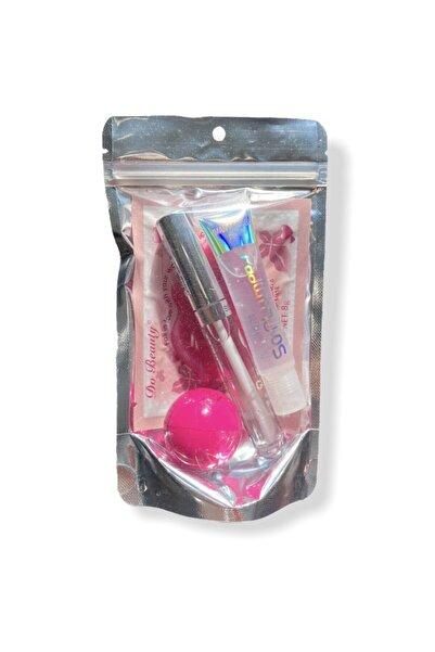 buenas store Lip Gloss Lip Balm & Lip Oil Dudak Bakım Set