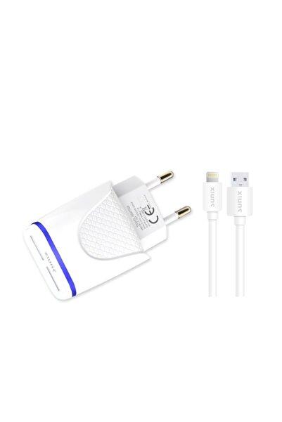 Sunix Apple Iphone Şarj Cihazları 6 7 8 X Uyumlu Şarj Aleti Cihazı Kablo