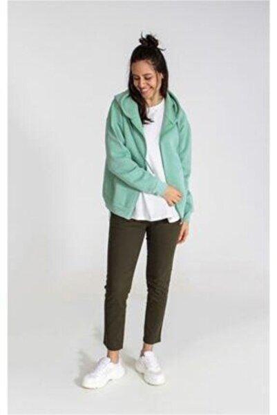 Collezione Kadın Mint Yeşili Sweatshirt Ucb150607a61