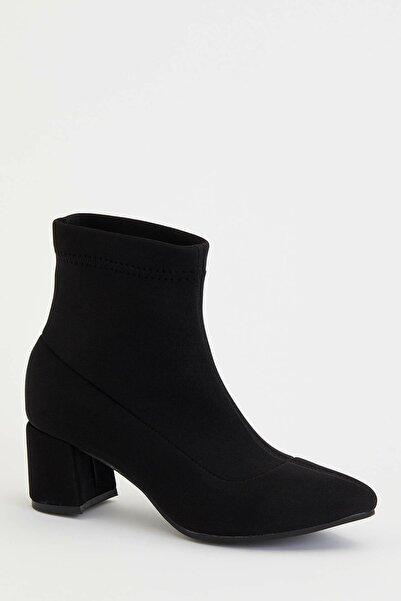 DeFacto Kadın Siyah Topuklu Bot N0678AZ.20SP.BK27