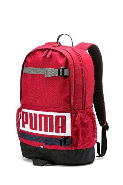 Puma DECK Bordo Unisex Sırt Çantası 100480352