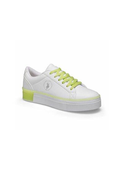 U.S. Polo Assn. MAZZA Beyaz Kadın Sneaker Ayakkabı 100489686