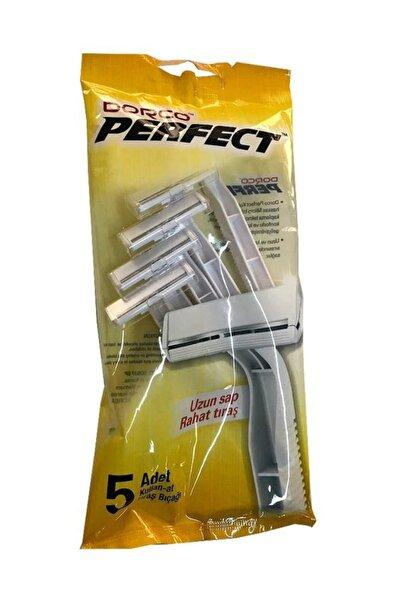 Raid Dorco - Tek Bıçaklı Jilet 5'li Poşet X 24 Paket