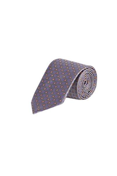 Kiğılı Erkek Orta Füme Desenli Kravat