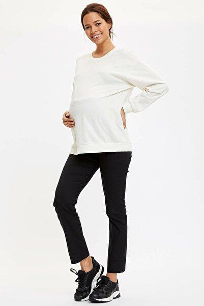 DeFacto Kadın Siyah Hamile Pantolon L5213AZ.20SP.BK27