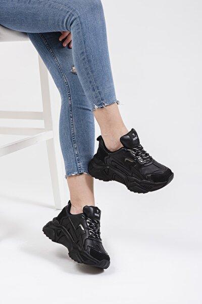 Tonny Black Kadın Siyah Sneaker DNZ-1