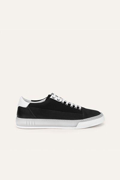 Mudo Erkek Siyah Bağcıklı Sneaker 373314