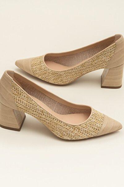 Elle Shoes Kadın Bej Ayakkabı