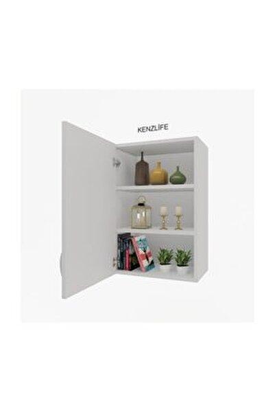 Mutfak Dolabı Irem  060.060.32 Byz 2 Raflı Kapaklı  Ofis Banyo Kiler Evrak Kitaplık