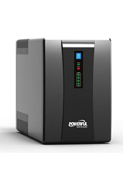 Powerful Lıne Interactıve Ups Kesintisiz Güç Kaynağı Sle-1000 1000va