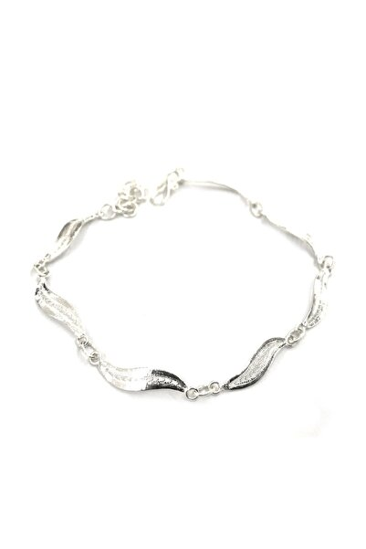 Midyat Gümüş Dünyası Kadın İnce Model Telkari Gümüş Bileklik 2020143