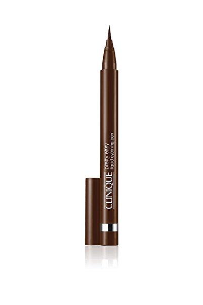Clinique Kahverengi Likit Eyeliner - Pretty Easy Liquid Eyeliner 02 Brown 020714754099