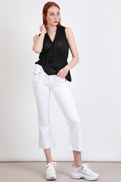 Replay Kadın Beyaz Jeans 3673469059124