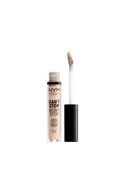 NYX Professional Makeup Kapatıcı - Can't Stop Won't Stop Contour Concealer Light 4 Ivory 3.5 ml