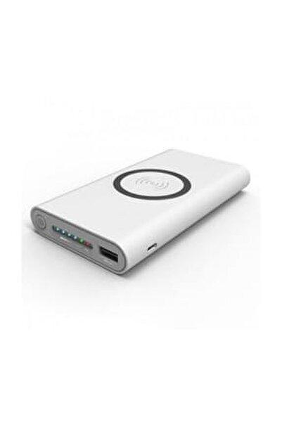 Pro B10 Kablosuz Powerbank Taşınabilir Şarj Cihazı 10000 Mah Beyaz
