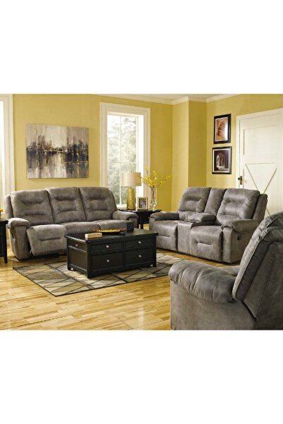 Ashley Furniture Rotation Üçlü TV Koltuğu