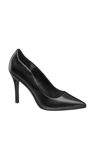 Graceland Deichmann Kadın Siyah Klasik Topuklu Ayakkabı