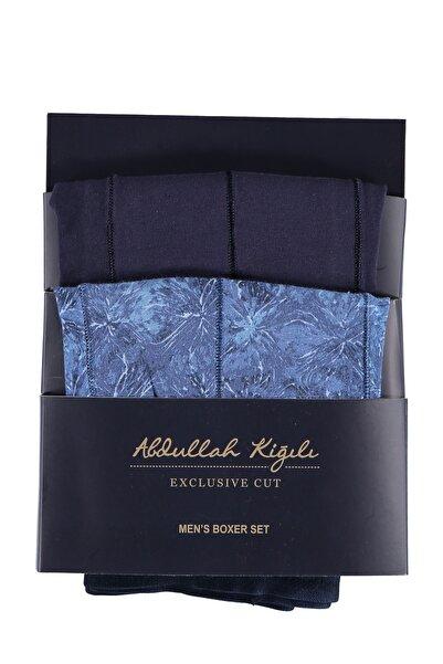 Kiğılı Erkek Açık Mavi-6 Boxer - 71648