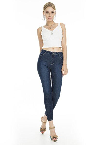 Fashion Friends Skinny Fit Jeans KADIN KOT PANTOLON 9K0688