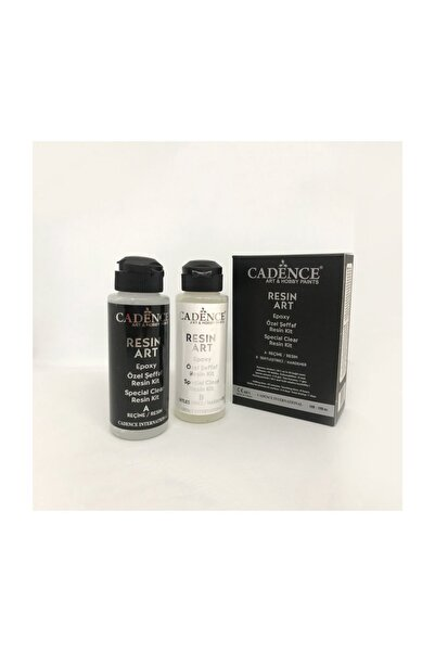 Cadence Resin Art Epoksi Şeffaf Reçine 120ml + 120ml Kit