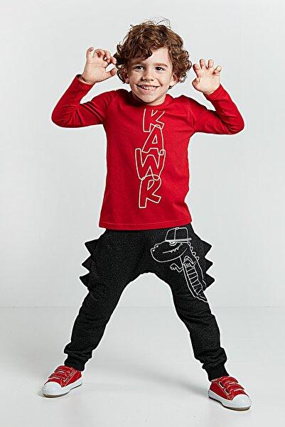 Denokids Tırtır Erkek Çocuk Pantolon Takım