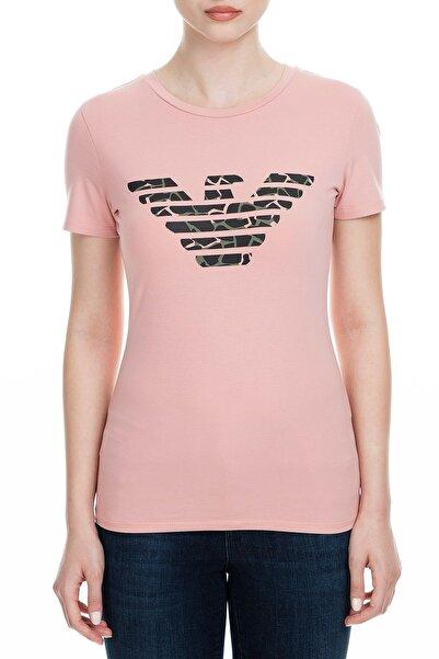 Emporio Armani Pembe Kadın T-Shirt 6G2T7N 2J07Z 0312