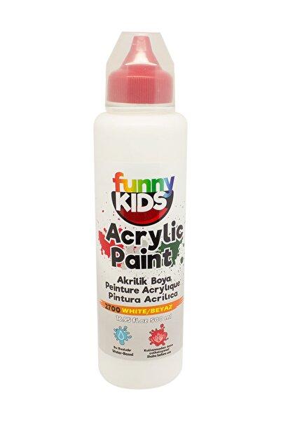 Rich Funny Kids Akrilik Boya 500ml - 2700 Beyaz