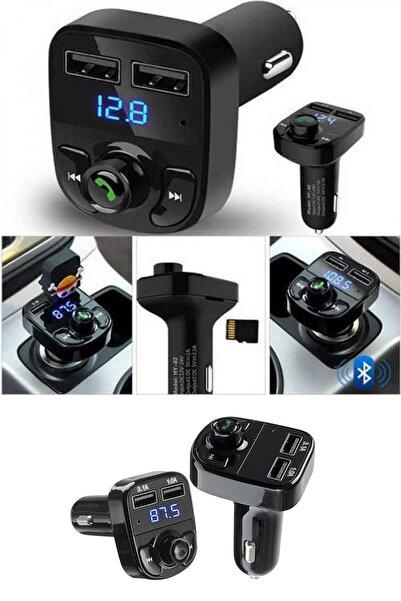 Buffer Car X8 Araç Fm Transmitter Bluetooth Usb Mp3 Sd Kart Çakmaklık Girişli Oto Müzik Çalar Kiti