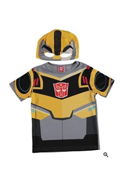 transformers Tf Bumblebee Üst Kostüm T-shirt (4-6)