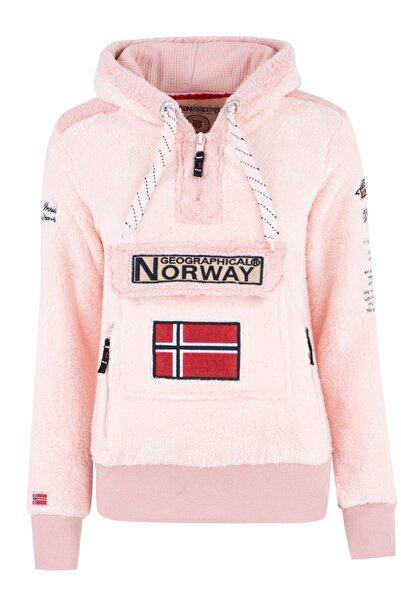 Norway Geographical Kadın Pembe Sweatshirt GYMCLASS