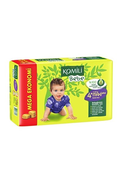 Komili Bebe Bebek Bezi 4+ Beden Jumbo Paket 36 Adet