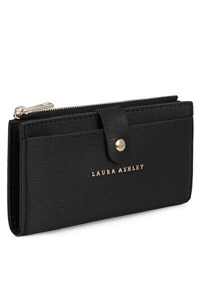 Laura Ashley Kadın Cüzdan Siyah