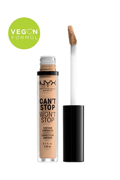 NYX Professional Makeup Kapatıcı - Can't Stop Won't Stop Contour Concealer 7 Natural 3.5 ml 800897168599