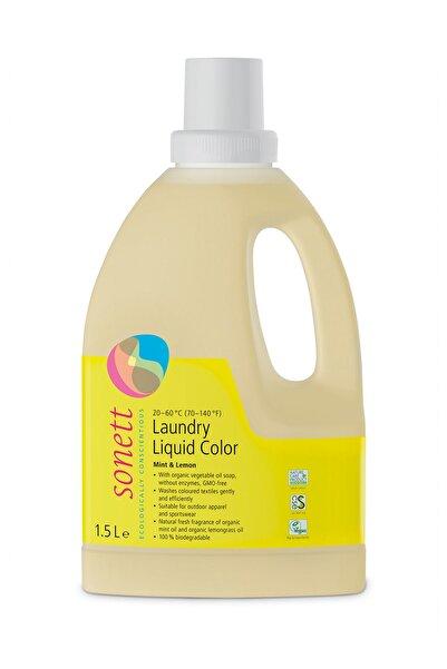 Sonett Renkliler İçin Organik Çamaşır Yıkama Sıvısı - 1,5 L