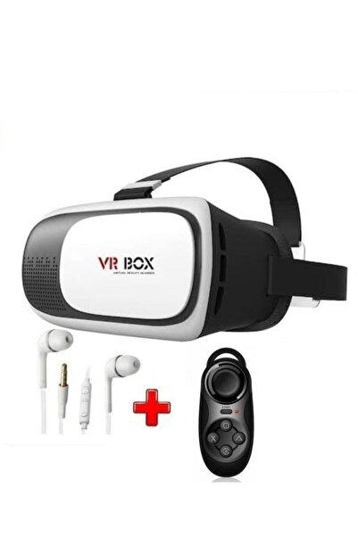 VR BOX 3d 3in1 Sanal Gerçeklik Gözlüğü Seti St1