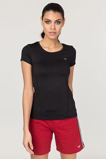bilcee Siyah  Kadın Antrenman T-Shirt FS-1735