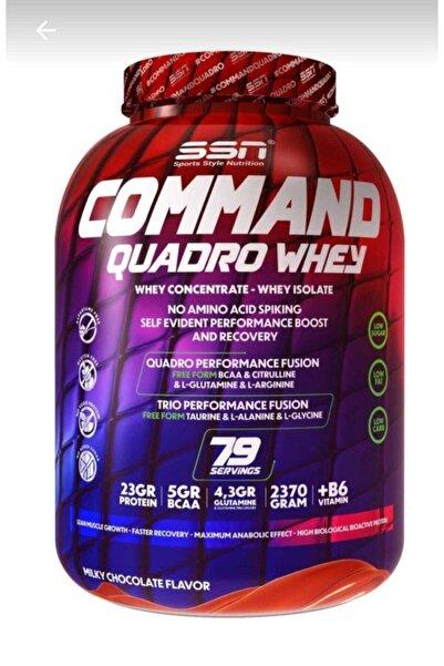 SSN Sports Style Nutrition Ssn Command Quadro Whey Protein Tozu 2370 gr Çikolatalı