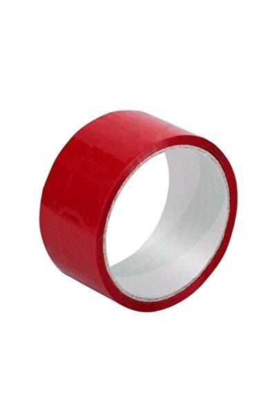 Erdinler Renkli Koli Bandı 30 Metre Kırmızı
