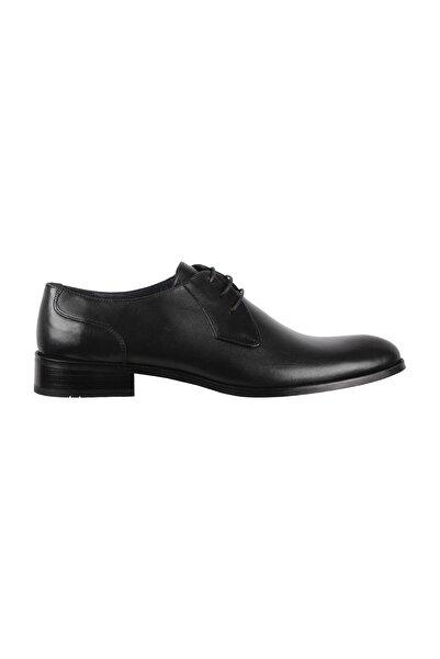 Elegante Italy Erkek Ayakkabı 142-Sıyah-Antik