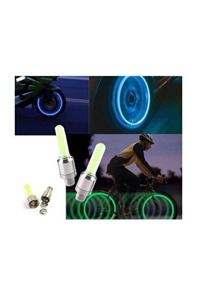 Nerox Işıklı Sibop Kapağı Hareket Sensörlü Bisiklet-Araba 2'li Paket