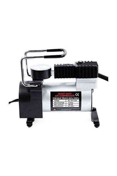 Techmaster Araba Oto Araç Lastik Şişirme Pompası 100 Psi Kompresör Ac-580
