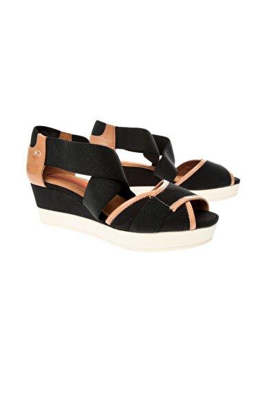 Logan Beyaz Kadın Sandalet 2564 Elastıco