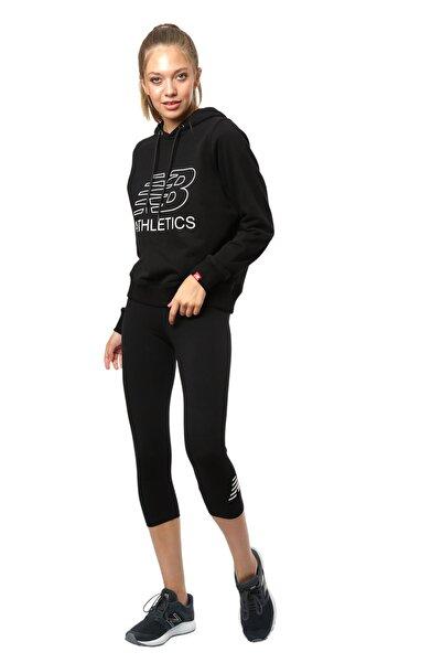 New Balance Vom Kadın Siyah Sweatshirt WPS017-BK
