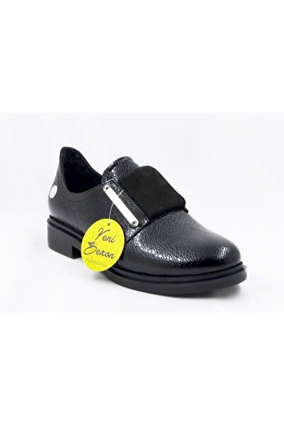 Mammamia D19ka-990-b Kadın Günlük Ayakkabı -  - Siyah-rugan - 38