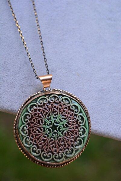 Stoneage Jewellery Özel Tasarım Çini Bayan Kolye
