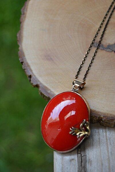 Stoneage Jewellery El Yapımı Çini Bayan Kolye